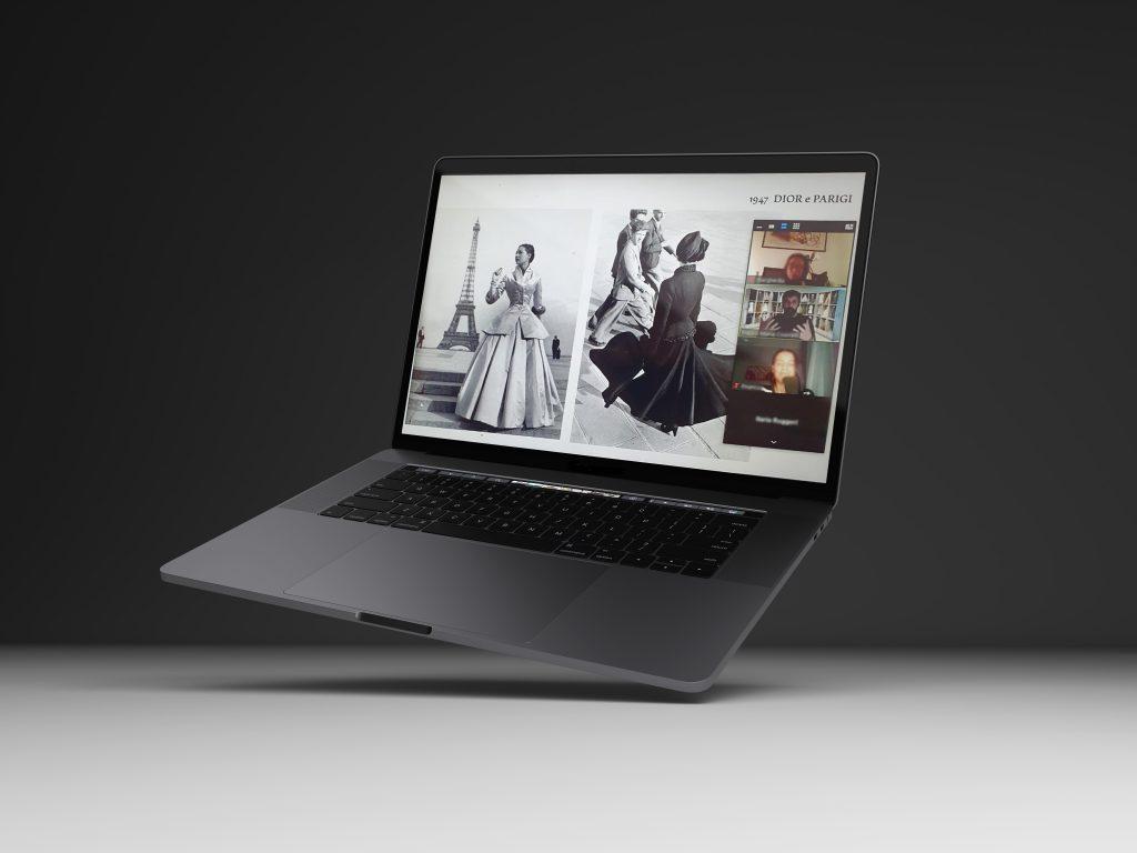 COPERTINA Amex + dior mockup laptop